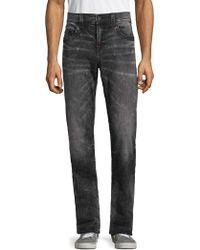 True Religion - Ricky Fade Wash Straight Jeans - Lyst
