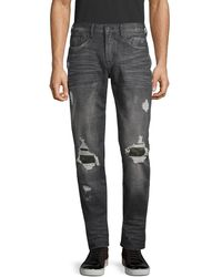 PRPS - Distressed Slim Tapered-fit Jeans - Lyst