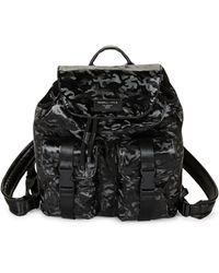 Kendall + Kylie Camo Printed Backpack - Black