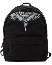 Marcelo Burlon Sharp Wings Backpack - Black