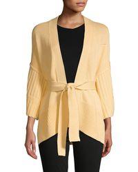Brochu Walker Wide-sleeve Cotton Cardigan - Multicolour