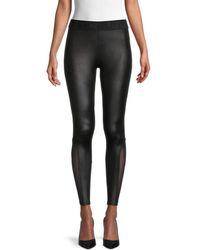 True Religion Women's Mesh Leggings - Black - Size Xs