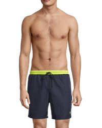 BOSS by Hugo Boss Men's Starfish Swim Trunks - Navy - Size Xl - Blue