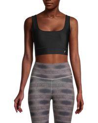 Electric Yoga Women's Star Light Star Bright Sports Bra - Black - Size S