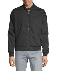 Members Only - Classic Iconic Racer Jacket - Lyst