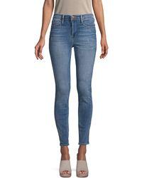 FRAME High-waist Beaufort Skinny Jeans - Blue