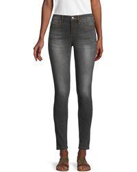 Karl Lagerfeld Karl Mid-rise Ankle Skinny Jeans - Multicolour