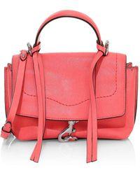 Rebecca Minkoff Mini Stella Leather Satchel - Multicolour