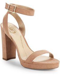 403ed9118838 Circus By Sam Edelman Sallie Braided Block-heel Sandals in Black - Lyst