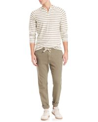 Eidos - Washed Army Drawstring Trousers - Lyst