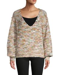 Free People Highland Chunky-knit Jumper - Multicolour