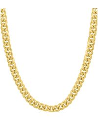 Saks Fifth Avenue 14k Yellow Gold Miami Cuban Chain Necklace - Metallic