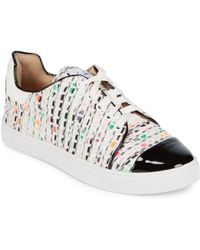 Isa Tapia - Printed Lace-up Trainer - Lyst