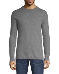 Scotch & Soda - Heathered Crewneck Sweater - Lyst