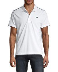 Lacoste Men's Regular-fit Logo Polo - White - Size 8 (xxxl)