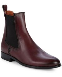 Frye - Melissa Leather Chelsea Boots - Lyst