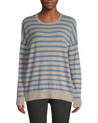 Saks Fifth Avenue - Striped Long-sleeve Jumper - Lyst