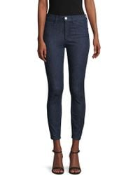 3x1 Cropped Skinny-fit Jeans - Blue