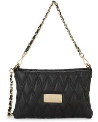 Valentino By Mario Valentino Women's Vanille D Sauvage Quilted Shoulder Bag - Black