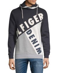 Tommy Hilfiger - Blocking Drawstring Sweater - Lyst