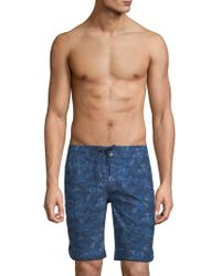 2xist - Camo-print Board Shorts - Lyst
