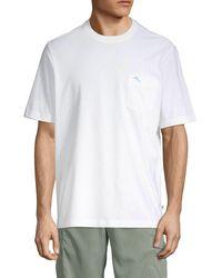 Tommy Bahama Horizon Patch Pocket T-shirt - Blue