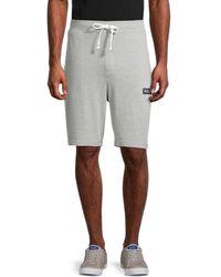 Tommy Hilfiger Men's Logo Sweat Shorts - Gray Heather - Size L