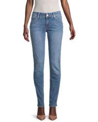 Hudson Jeans Women's Collin Mid-rise Skinny Jeans - Sequl - Size 30 (8-10) - Blue