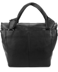 Vince Camuto Dian Leather Tote - Black