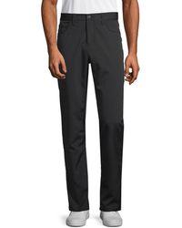Perry Ellis Men's Slim-fit Stretch Pants - Black - Size 36 32