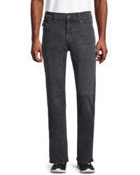 True Religion Men's Ricky Relaxed Straight Jeans - Black - Size 30