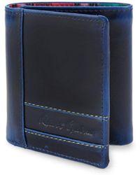 Robert Graham - Leather Tri-fold Wallet - Lyst