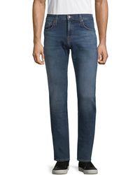 J Brand Kane Straight-leg Jeans - Blue