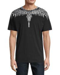 Marcelo Burlon Sharp Wings Regular-fit T-shirt - Black