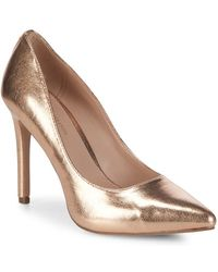 BCBGeneration - Heidi Metallic Court Shoes - Lyst