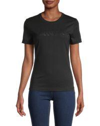 Armani Jeans Logo T-shirt - Black