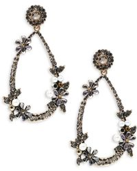 Cara - Pear-shaped Drop Earrings - Lyst