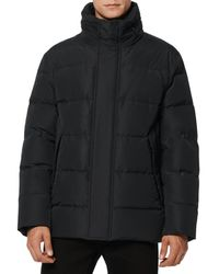 Marc New York Men's Stratus Puffer Jacket - Charcoal - Size L - Grey