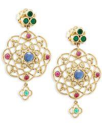 Temple St. Clair - Mosaic Earrings - Lyst