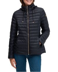 Kate Spade Quilted A-line Jacket - Black