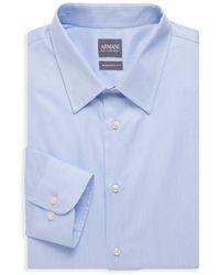 Armani Modern-fit Dress Shirt - Blue