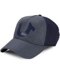 True Religion Logo Baseball Cap - White