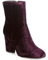Saks Fifth Avenue - Designed Booties - Lyst
