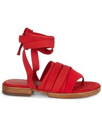 Free People Sun Valley Wrap Sandals - Natural