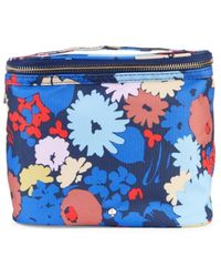 Kate Spade Floral Insulated Lunch Bag - Blue