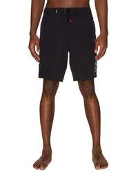 Spyder Logo Drawstring Shorts - Red
