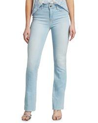L'Agence Women's Oriana High-rise Straight-leg Jeans - Belmond - Size 25 (2) - Blue
