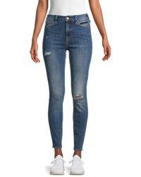True Religion Halle High-rise Skinny Jeans - Blue