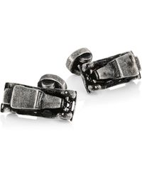 Saks Fifth Avenue Collection Vintage Car Rhodium-plated Cufflinks - Multicolour
