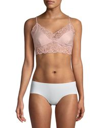 Natori Collette Lace-trimmed Bralette - Multicolour
